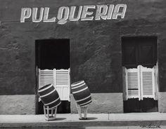 Barilles Borrachos (drunken barrels) Pulqueria, Toluca, Manuel Carillo