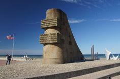 "Monument at ""Omaha Beach"", Normandy, France - Flickr - Photo Sharing!"