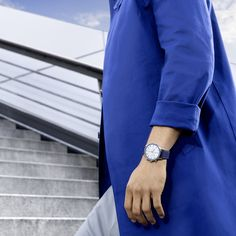 A world of relaxed luxury requires a daring pioneer. Join the lifestyle of BLUE with the new IWC Schaffhausen Portugieser Chronograph Bucherer BLUE. Iwc, Watches, Chronograph, Join, Lifestyle, Luxury, Blue, Fashion, Moda