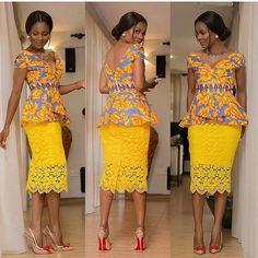 Make using orange lace fabric I have