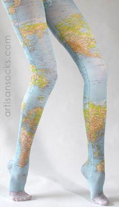 Jambes voyageuses