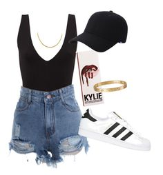 Lit. by itz-seselovly on Polyvore featuring moda, adidas Originals, Cartier and Keds