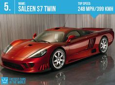 Fastest Cars In The World 2013: #4 Saleen s7 Twin-Turbo ~ Top Speed: 248 mph/ 399 kmh