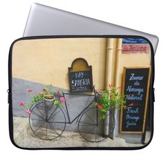 Choose from a variety of Bicycle laptop sleeves or make your own! Shop now for custom laptop sleeves & more! Custom Laptop, Sangria, Granada, Laptops, Laptop Sleeves, Phones, Bicycle, Cases, How To Make