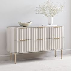 Shop modern living room furniture at west elm and create a chic living room space. Our living room furniture collection features modern and sophisticated designs. Oversized Furniture, 6 Drawer Dresser, Best Dresser, Dresser Ideas, Bedroom Dressers, White Bedroom Dresser, Bedding Shop, Furniture Design, Gold Furniture