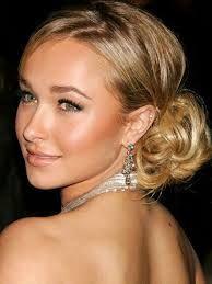 Image result for bridesmaid updos for shoulder length hair
