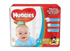Huggies Natural Care Niños M/2 Maxi 24 unidades.