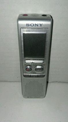 Sony ICDB300 64MB Digital Voice Recorder #Sony
