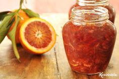 Αρωματική μαρμελάδα σαγκουίνι / Blood orange & vanilla marmalade