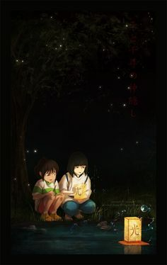 Chihiro and Haku ^_^