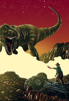 Jurassic Park alternative movie poster by Derek Payne Jurassic Park Poster, Jurassic Park Series, Jurassic Park 1993, Jurassic Park World, Jurrassic Park, Park Art, Michael Crichton, Science Fiction, Steven Spielberg Movies