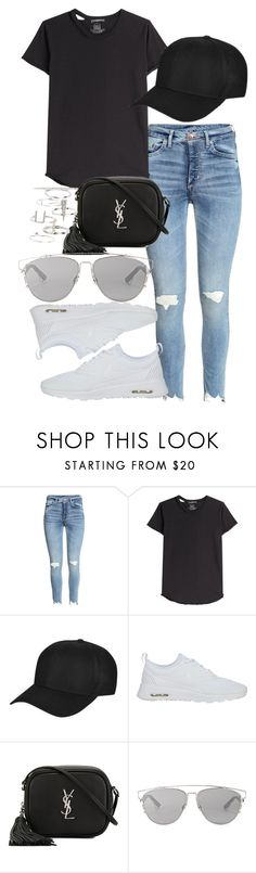 """Untitled #124"" by voiceforfashion ❤ liked on Polyvore featuring Alexander McQueen, Ivy Park, NIKE, Yves Saint Laurent, Christian Dior, Topshop and polyvoreeditorial"