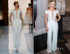 Julianne Hough In Georges Hobeika Couture - The Empire State Building