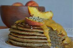 Peachy Keen Hemp Pancakes