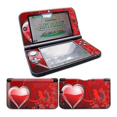CSBC Skins Nintendo 3Ds XL Design Foils Faceplate Set - Heart Design   http://ibestgadgets.com/product/csbc-skins-nintendo-3ds-xl-design-foils-faceplate-set-heart-design/   #gadgets #electronics #digital #mobile