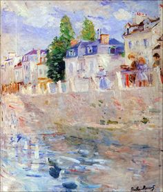 Berthe Morisot - The Sky In Bougival