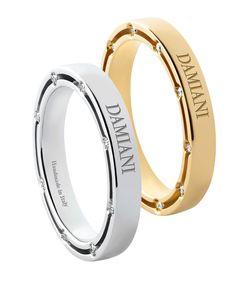 Damiani wedding bands