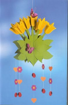 Foto: Easter Crafts For Kids, Preschool Crafts, Diy For Kids, Book Crafts, Diy And Crafts, Paper Crafts, Spring Crafts, Holiday Crafts, Origami