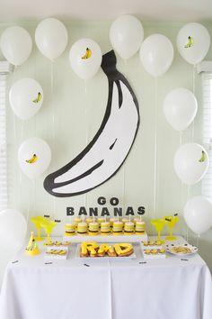 Rad's First Birthday Party: Banana Bash