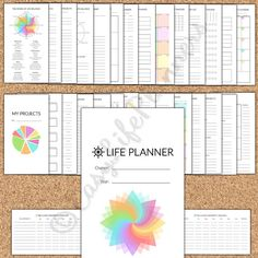 LIFE PLANNER Personal Size Filofax. 3.7x6.7 by EasyLifePlanners