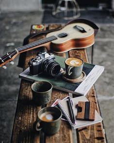 Coffee, Music, and photography. Coffee, Music, and photography. Coffee Is Life, I Love Coffee, Coffee Break, My Coffee, Morning Coffee, Ninja Coffee, Coffee Travel, Happy Coffee, Coffee Creamer