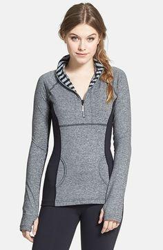 cute half zip pullover