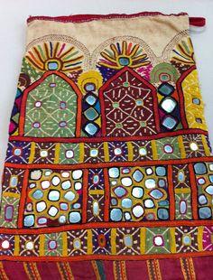 antique rajput kutch dowry bag
