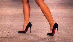 asos vesper origami dress little red dress sokate louboutin redsoles classic chanel mini Chanel Mini Square, Midnight Cinderella, Origami Dress, Little Red Dress, Beautiful High Heels, Just Beauty, Sexy Heels, Christian Louboutin, Asos