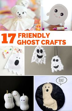 30 days of halloween three little ghosties kids craft for kids cupcake liners and crafts for kids - Toddler Halloween Craft Ideas