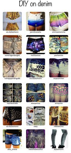 #diy #denim #shorts