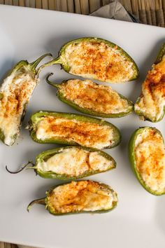 Cheese Jalapeno Poppers – Four Cheese Jalapeno Poppers. This is an easy party appetizer. A crowd pleaser. Four Cheese Jalapeno Poppers. This is an easy party appetizer. A crowd pleaser. Mexican Appetizers, Appetizers For A Crowd, Mexican Food Recipes, Appetizer Recipes, Bacon Recipes, Milk Recipes, Mexican Tapas, Meat Appetizers, Jalapeno Poppers