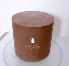 ganache de couverture avant pâte à sucre