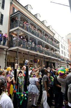 64. Go to Mardi Gras in New Orleans, LA.