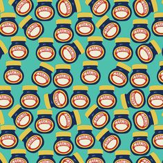 Marmite Pattern Canvas Wall Art in Teal - I hate the stuff, but I love the brand. Marmite, Window Art, Successful Women, Tea Time, South Africa, Canvas Wall Art, Art Ideas, Hate, Shelf