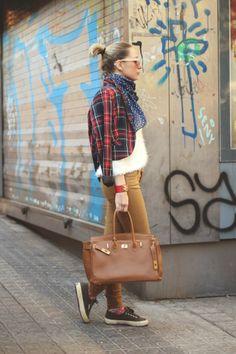 #MyBlomquist blazering it with her Hermes in Madrid. #MyShowroom