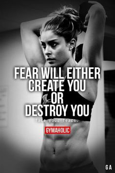 Monday motivation! Face your fears! #NuHealth #NuHealthSupps NuHealthLifestyle.com