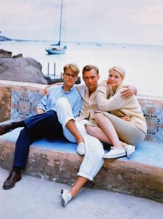 The Talented Mr. Ripley. The perfect summer look!