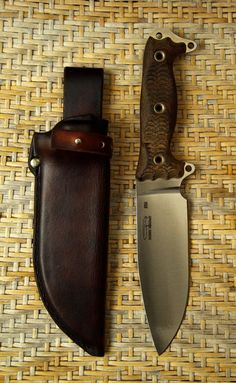 ASH 1 Anniversary Steel Heart 1 by Busse Combat Custom sheath from Martinsheaths Cool Knives, Knives And Tools, Knives And Swords, Bushcraft Knives, Tactical Knives, Benchmade Knives, Survival Tools, Survival Knife, Survival Essentials