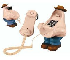 Burun Şeklinde Telefon