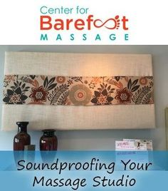"Soundproofing massage rooms & studios: Learn ""hush hush"" tips on how noise absorption reduces the vibration of sound & prevents it from bouncing around. Massage Room, Massage Therapy, Massage Business, Chiropractic Care, Massage Techniques, Sound Proofing, Hush Hush, Business Tips, Things That Bounce"