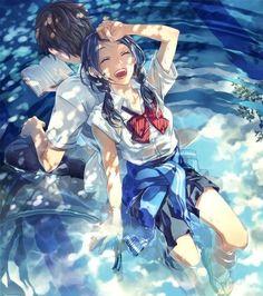 anime boy with sky - Tìm với Google