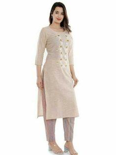 Palazzo With Kurti, Ethnic Kurti, Kurti Sleeves Design, Combo Dress, Pakistani Salwar Kameez, Printed Kurti, Designs For Dresses, Sleeve Designs, Indian Ethnic