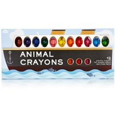 Animal Crayons – pomme