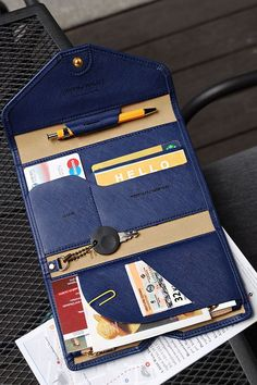 The All-in-One Slim Leather Clutch is a very elegant and well made clutch! The All-in-One Slim Leather Clutch is designed to hold a passport, bills, credit cards, your ID, a pen, coins, as well as a key too! A zippered pocket is also available to hold sensitive items! All compartments are separated into trifold sections and securely closed with the buttoned closure. All this makes it a great wallet to just grab and go! It's an essential for your travel needs too! Learn more at…
