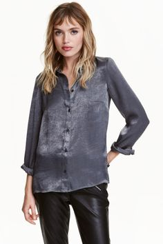 Long-sleeved blouse   H&M