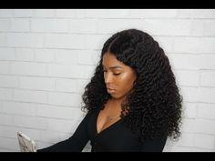 360 Frontal Wig 180% Density Curly Brazilian Virgin Hair [TLW06]-WOWAfrican.com