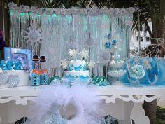 Frozen pool Party