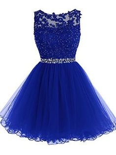 Tideclothes Short Beaded Prom Dress Tulle Applique Evenin... https://www.amazon.com/dp/B018WWMRMQ/ref=cm_sw_r_pi_dp_3MCAxbJE730CN