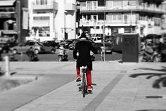 It's all about style στην τελική. #bicycle #cycling #cyclist #people #red #style #kavala #kavalacity #ilovekavala #greece