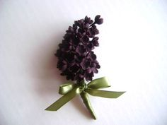Lilac Wedding Boutonniere Groomsmen by parsi on Etsy